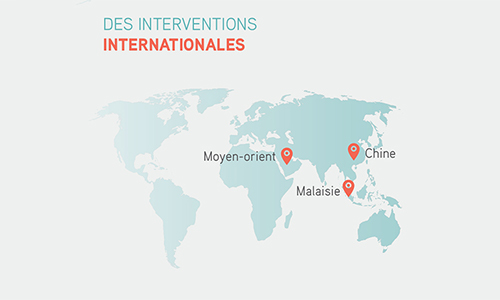 DES INTERVENTIONS INTERNATIONALES